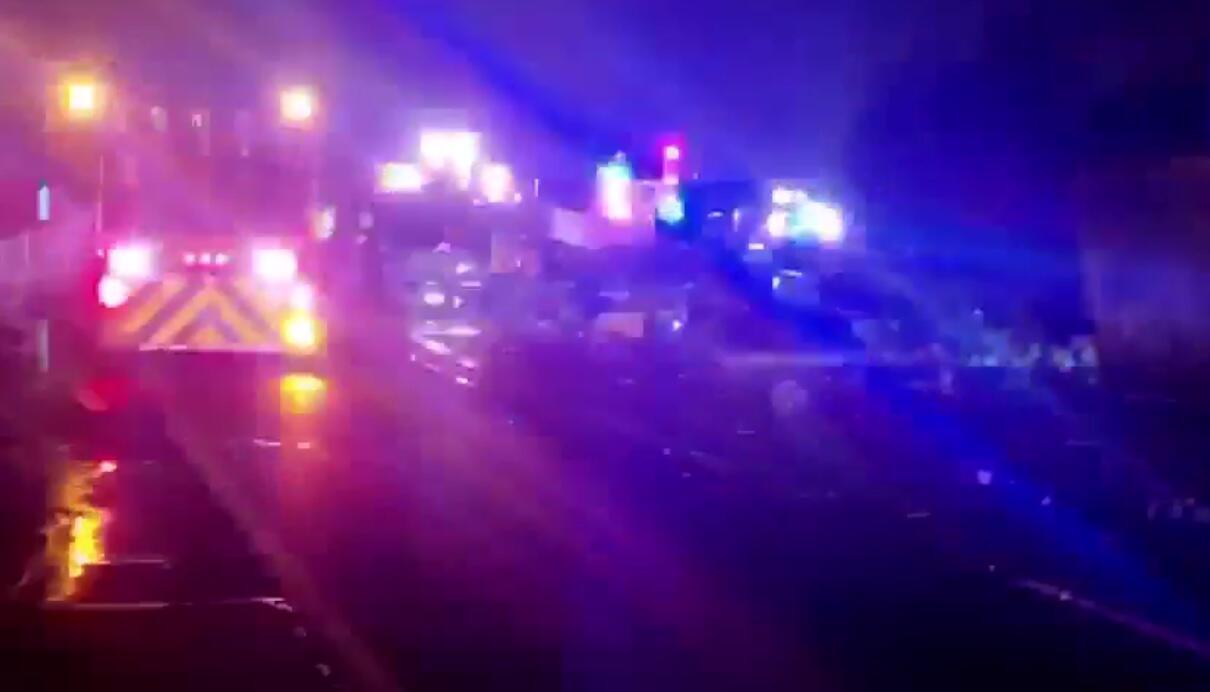 Fiery NJ Turnpike Crash Kills Truck Driver in Elizabeth   rlsmedia com