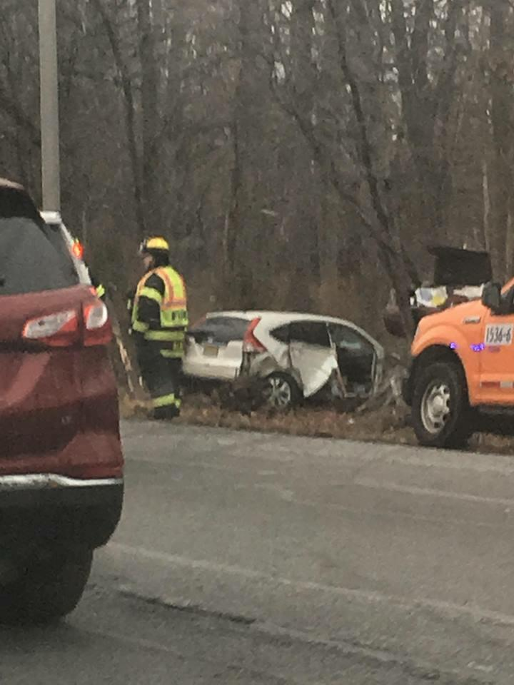 Multi Vehicle Crash Injures Several On The Garden State Parkway In Cranford