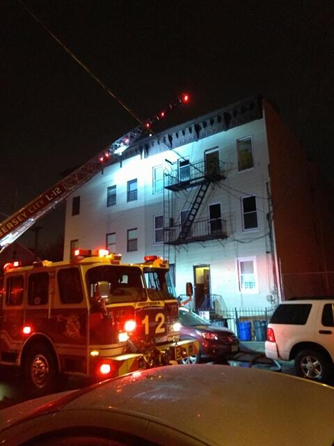 Jersey City Firefighters Respond to Two-Alarm Fire in Apartment