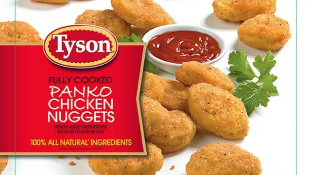 Rubber Found In Tyson Foods Chicken Nugget Products Prompt Recall