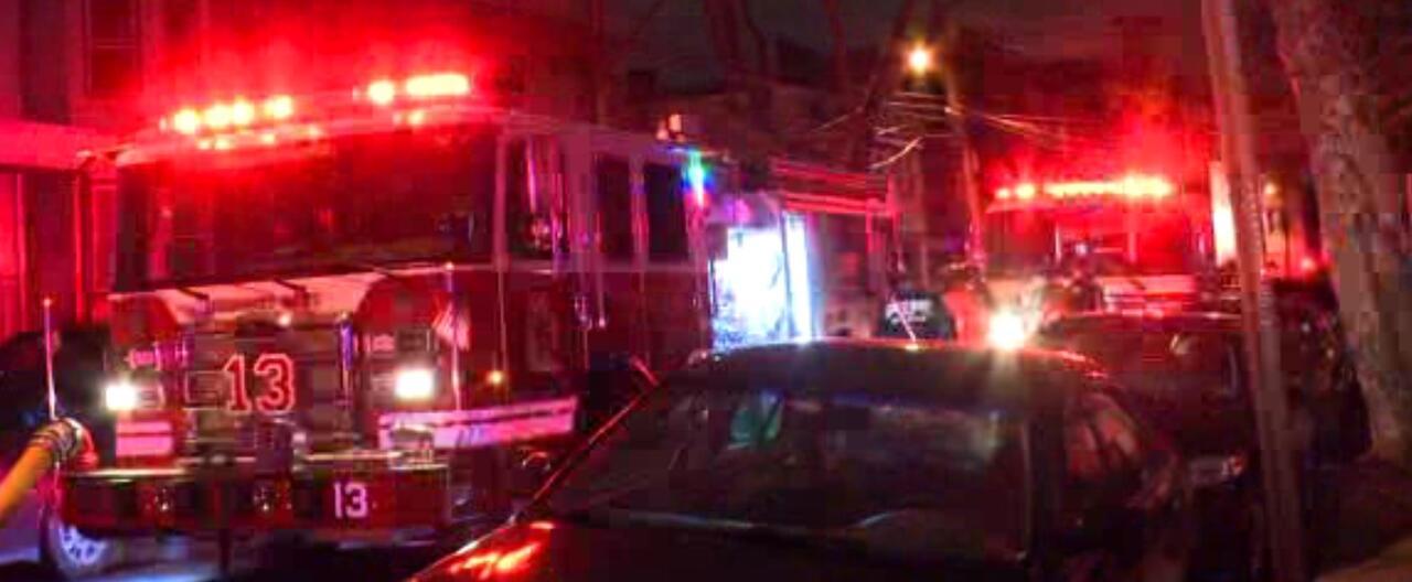 BREAKING JERSEY CITY NJ: Multi-Alarm House Fire Burning in Jersey