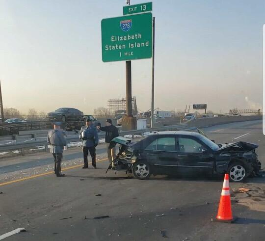 UPDATE: Serious Crash on NJ Turnpike in Elizabeth Caused Delays