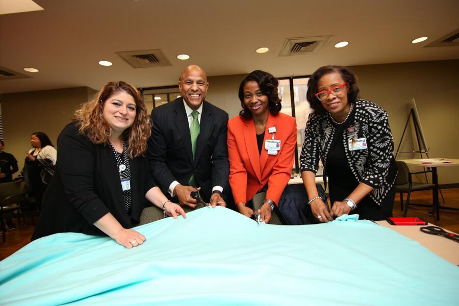 Newark Hospital Honors Reverend Dr  Martin Luther King Jr 's