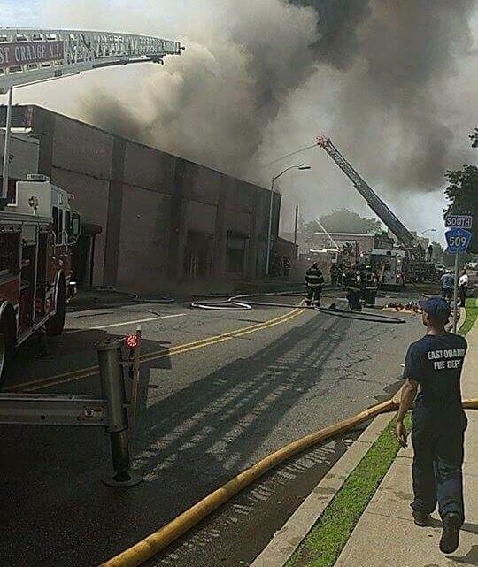 Developing East Orange Nj Three Alarm Fire Destroys