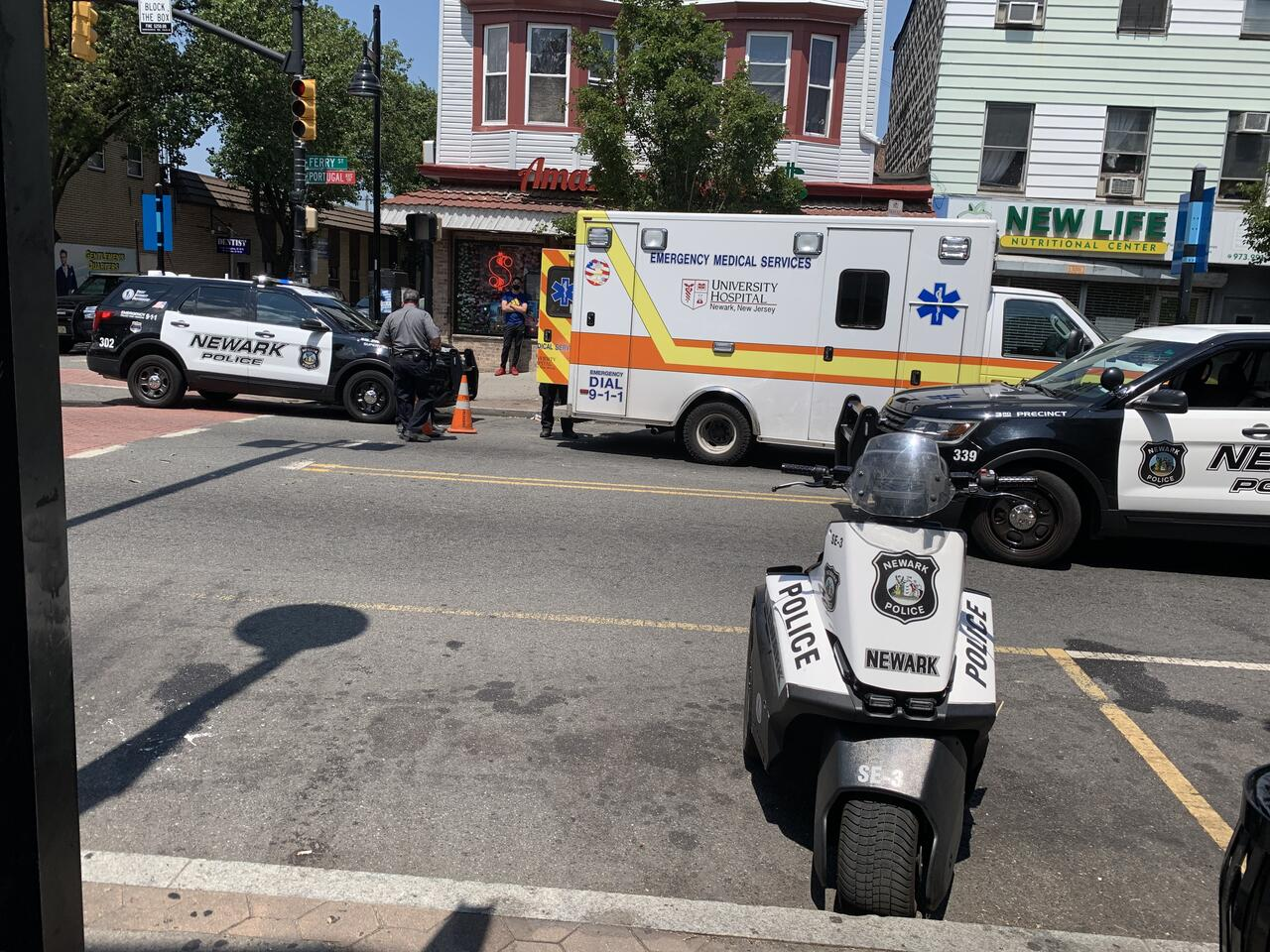 UPDATE: Non-Life Threatening Injuries Reported for Newark Officer ...