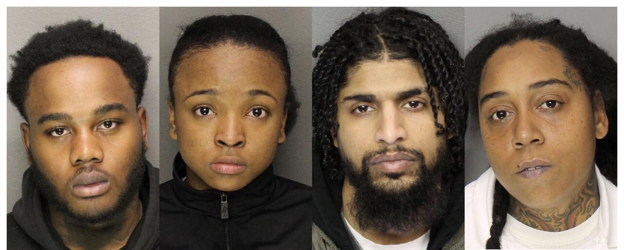 Roselle Duo Among Five Arrested on Drug, Weapon Charges