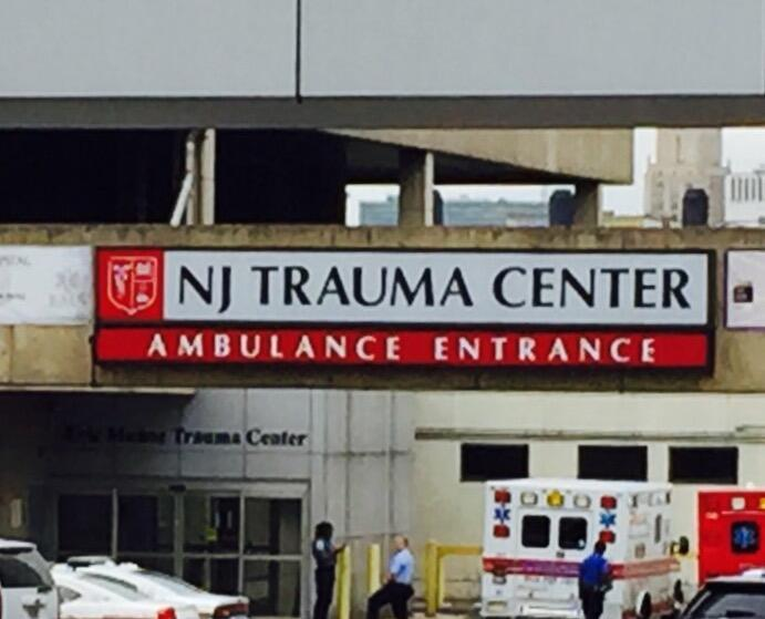 Male Enters University Hospital in Newark Suffering Bullet Wound