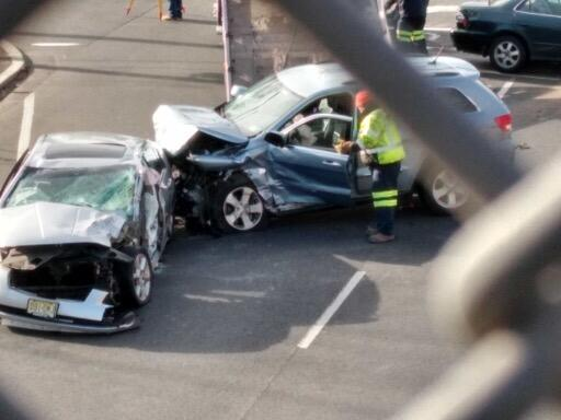 BREAKING: Early Morning Crash Shuts Down Route 22 in North