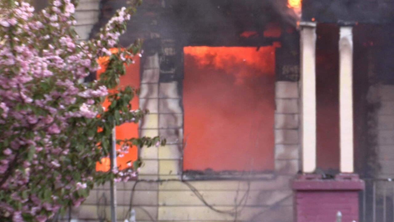 UPDATE: Senior Man Dies in Raging Paterson House Fire