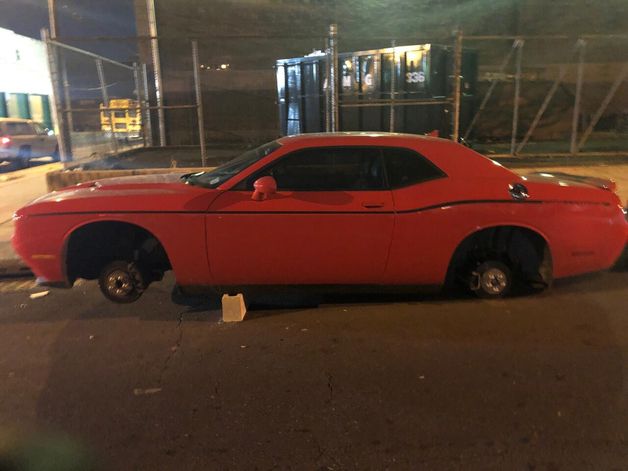 See Wheels On Your Car Before You Buy >> Developing Newark Nj Multiple Cars Found Stripped Of Wheels