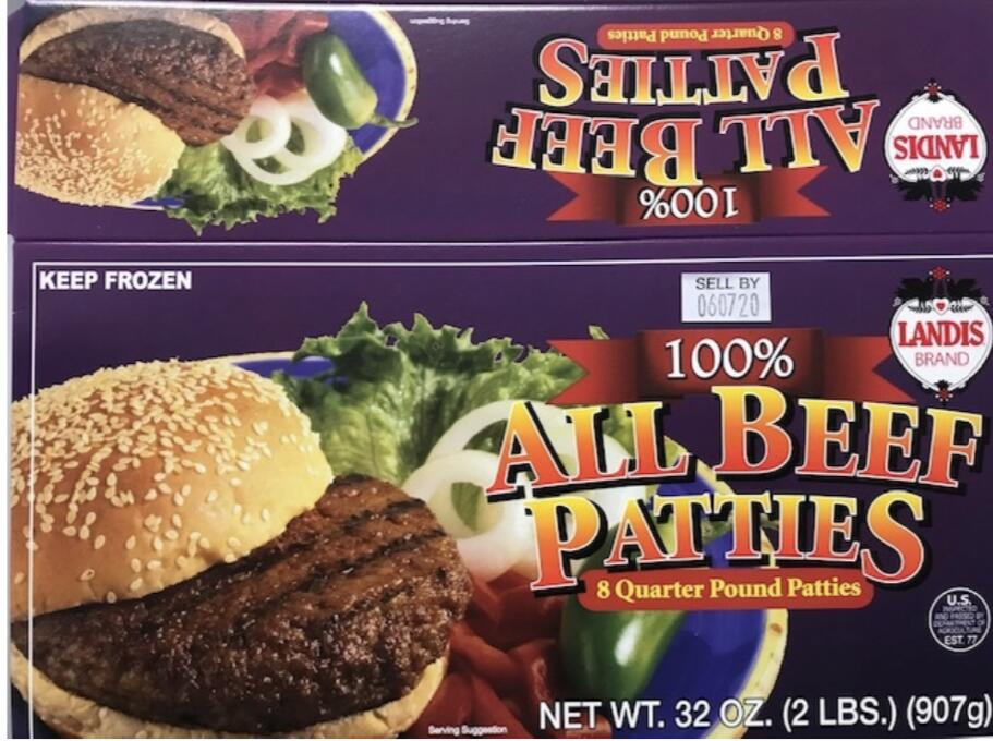 Beef products recalled because of possible E. coli contamination
