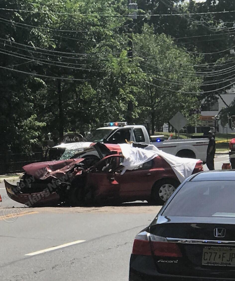 DEVELOPING RAHWAY NJ: Severe Injuries Reported for Rahway Crash Victim