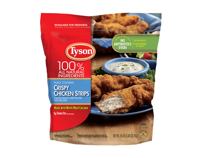 Tyson Foods recalling 191,000 pounds of chicken product sold in schools