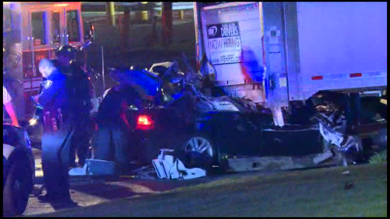 UPDATE: 39-Year-Old Man Killed After Crashing Into Rear of