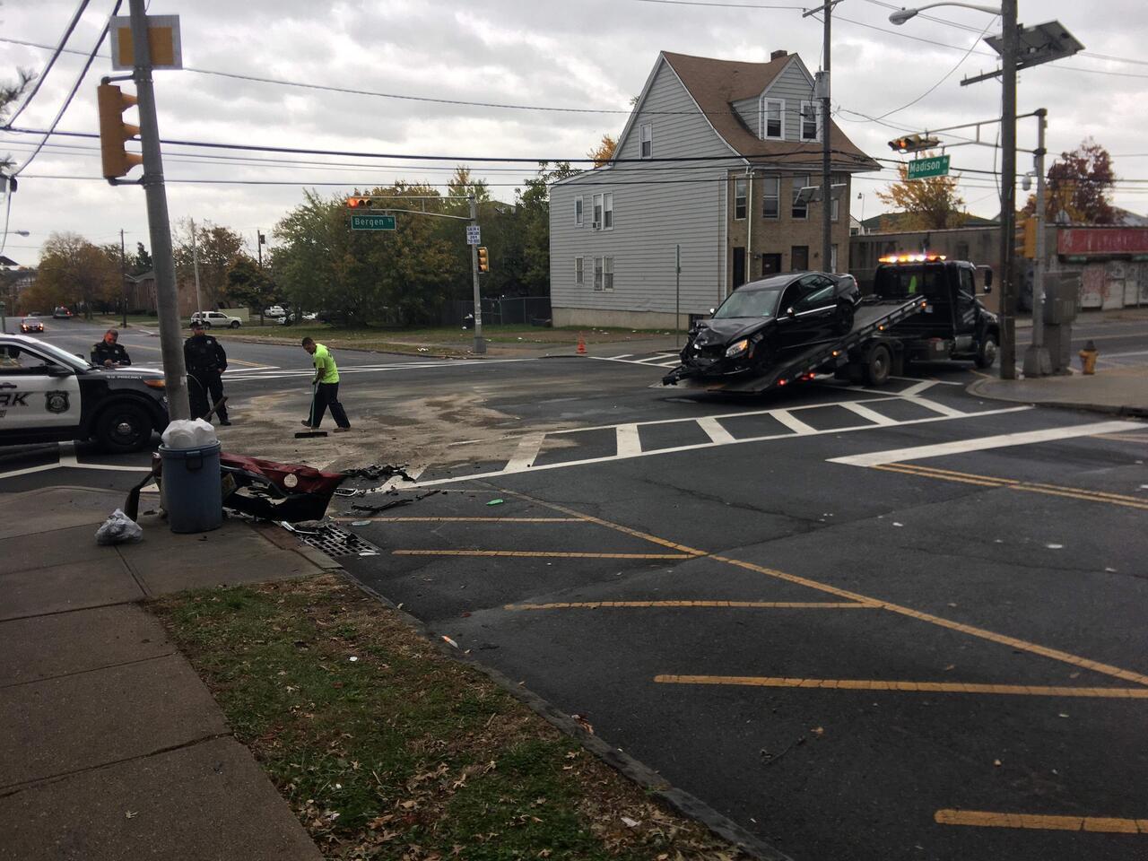 Head-on Crash Causes Injuries in Newark's South Ward | rlsmedia com