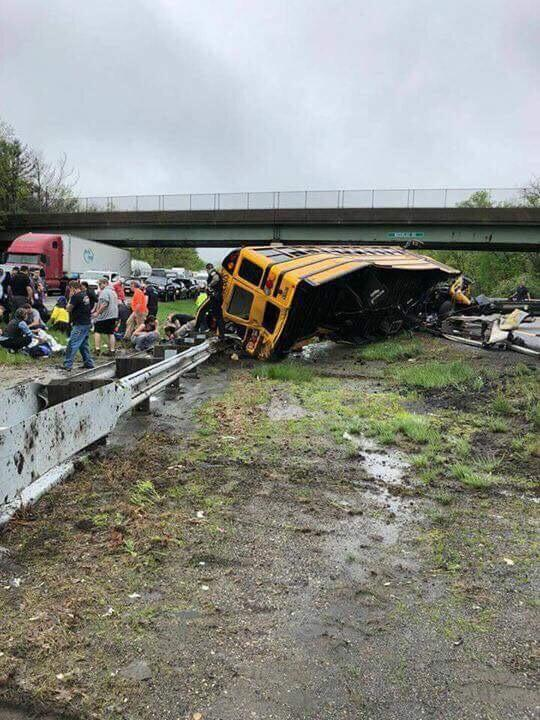 State Police Investigates Whether School Bus Made Illegal U-Turn in