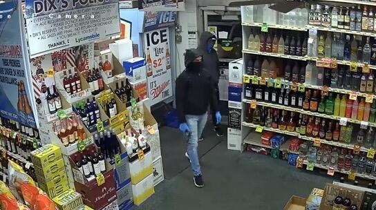 Store Rlsmedia Of com Suspects Liquor Photos Robbery In Surveillance Released Piscataway