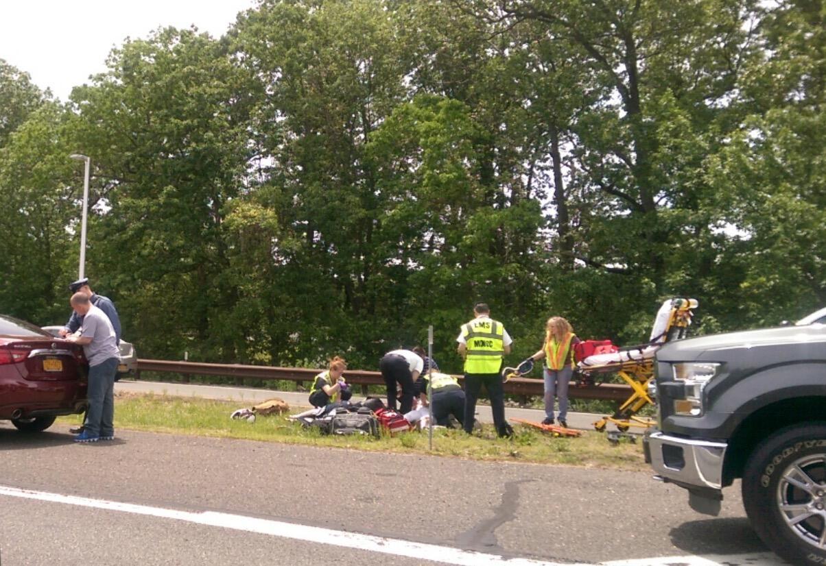 Garden State Parkway Crash Causes Injuries