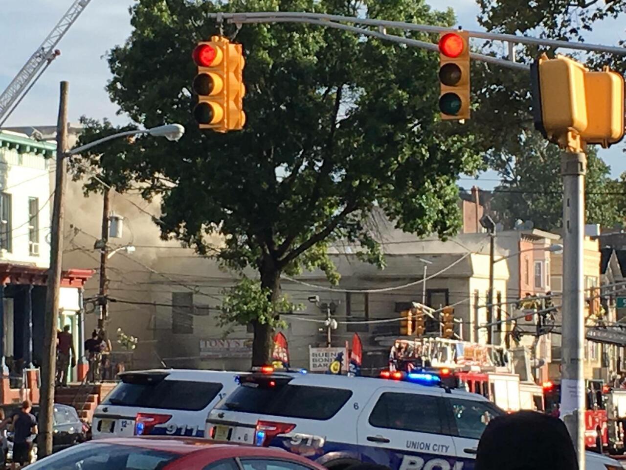 Firefighters Battle Raging Four-Alarm Fire in Jersey City   rlsmedia com