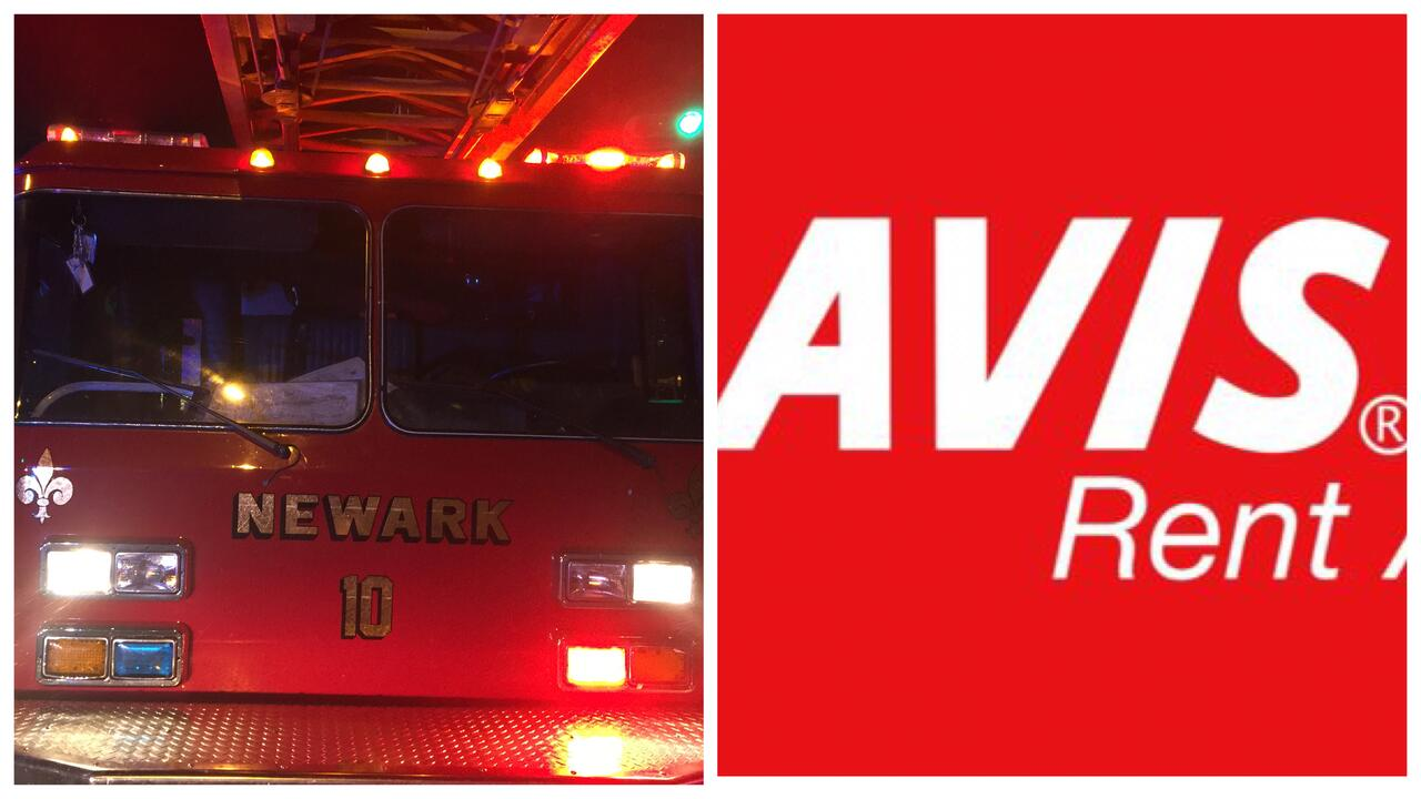 avis car rental newark airport	  Fire Ignites Five Vehicles at Avis Rental Car at Newark Airport ...
