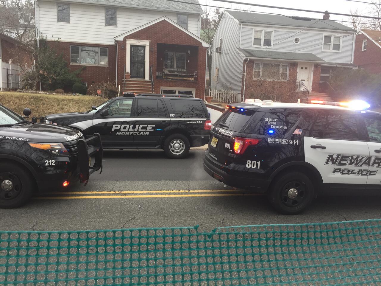 BREAKING BELLEVILLE-NEWARK NJ: High Speed Pursuit, Crash