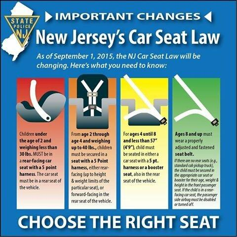 New Car Seat Regulations Take Effect Today; Free Child Safety Seat ...
