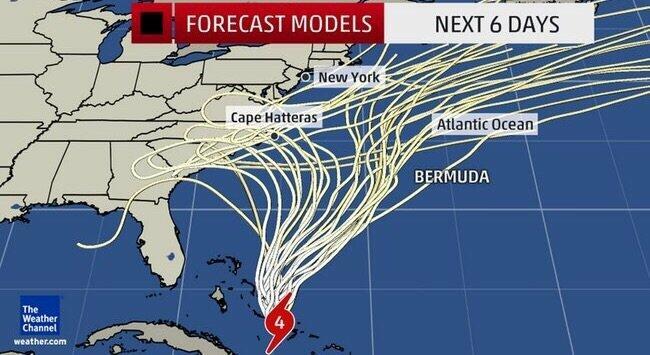 hurricane joaquin not expected to make landfall on east coast