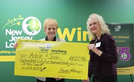 Harrison Mother, Daughter Purchase Jersey Cash 5 Ticket