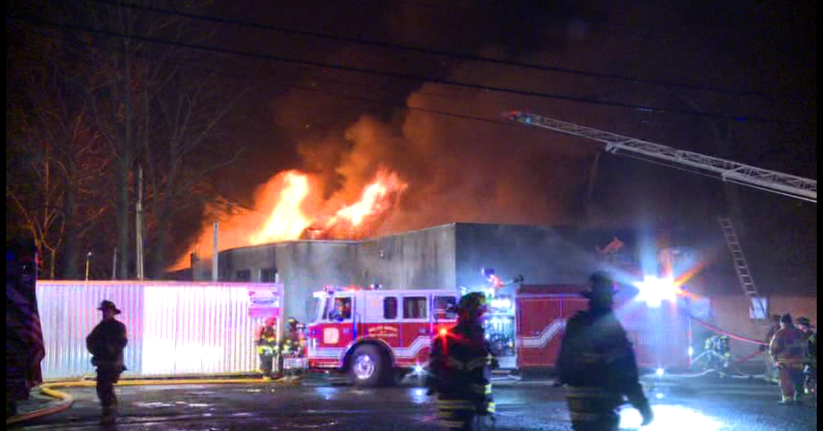 Green Brook Nj >> Business Fire in Green Brook Township Shuts Down US-22 in ...