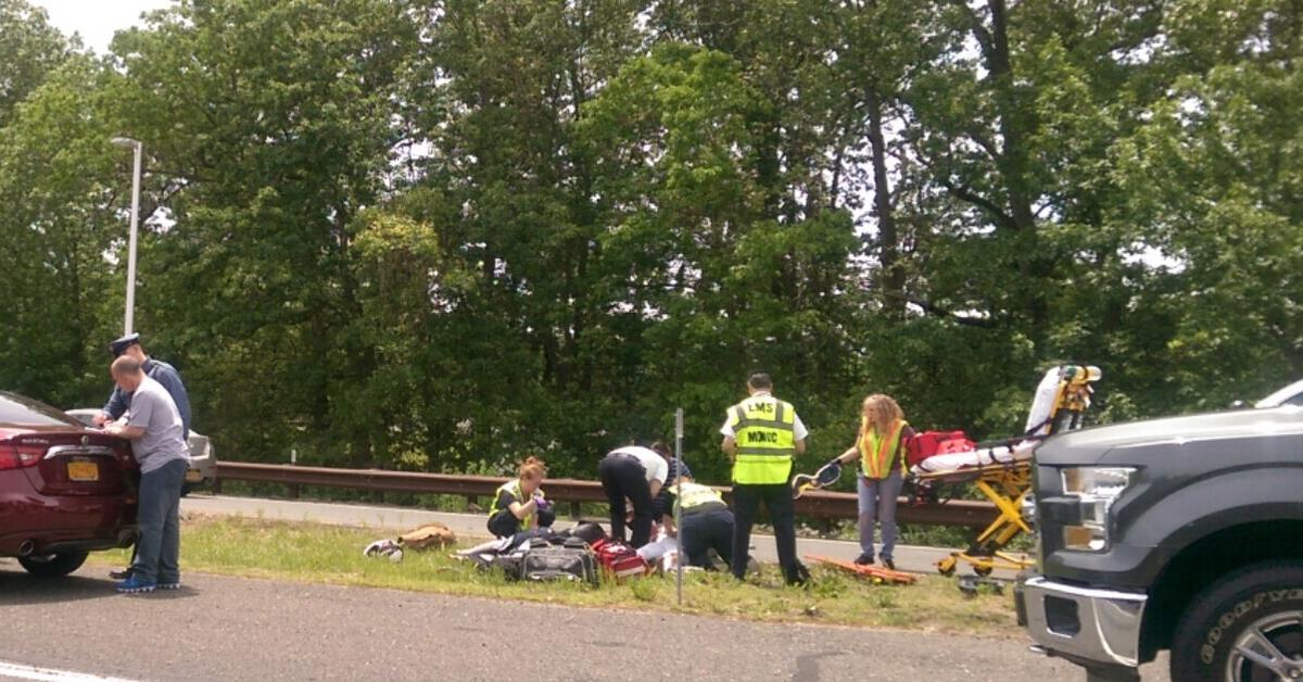 Garden State Parkway Crash Causes Injuries