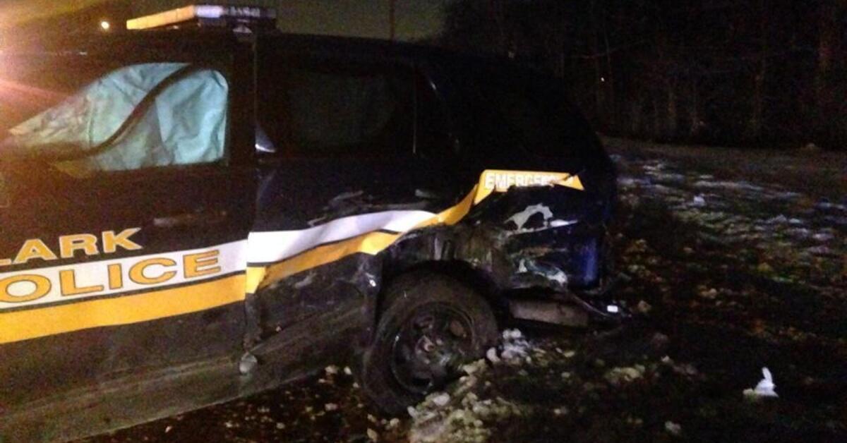 Drunk Driver Hits Clark Police Cruiser On Gsp Rlsmedia Com